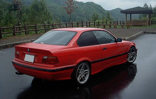 BMW E36 ライダー号