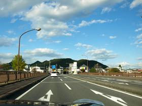 今市市の大谷川を渡る橋