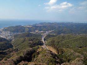 鋸山山頂展望台からの眺望