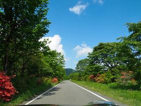 榛名湖と県道33号を結ぶ道