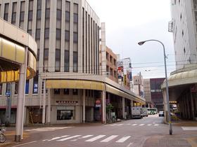 雑居ビルの1階に長岡戦災資料館