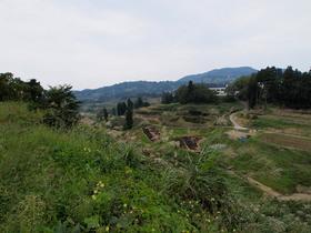 収穫を終えた山古志の風景