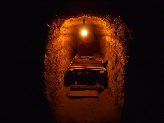 中山隧道の横穴