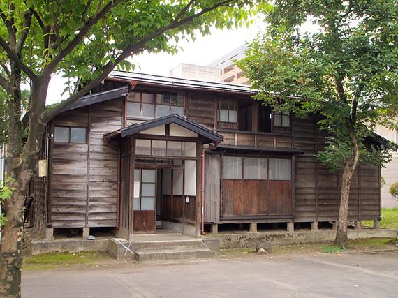 復元された山元五十六の生家