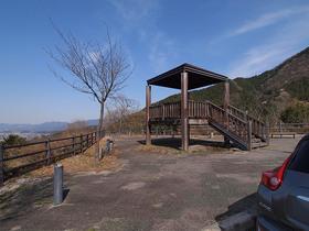 浦山ダムに向かう途中の展望台