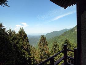 遥拝殿から下界の眺望