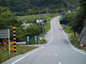 乙女湖(琴川ダム)入り口の看板