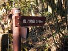 鷹ノ巣山まで3.8Km