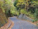 寒山寺駐車場から御岳渓谷へ向かう通路