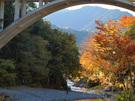 紅葉の御岳園地