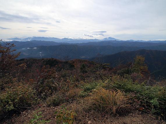 大岳山頂からの展望