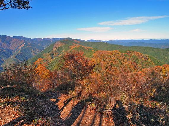岩茸石山からの眺望