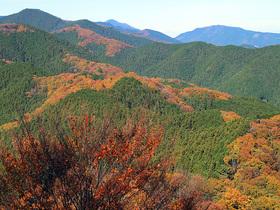 岩茸石山からの眺望1