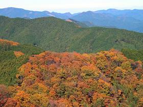 岩茸石山からの眺望2