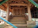 青渭神社の奥宮の様子
