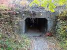 西武線の下のトンネル