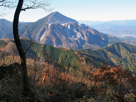 二子山雄岳からの眺望