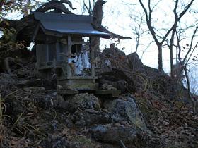 冨士浅間神社の祠