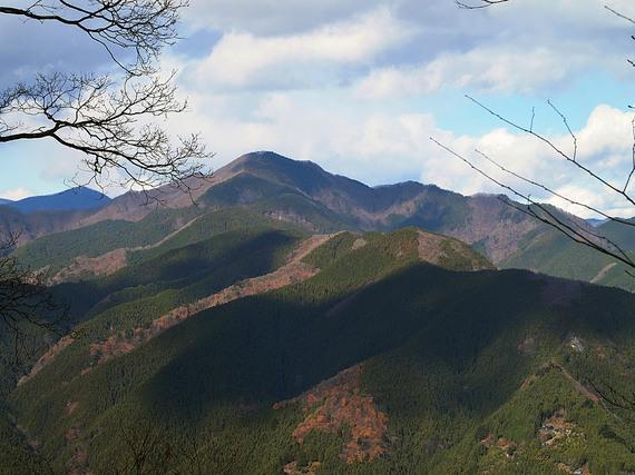 松生山から北側の眺望
