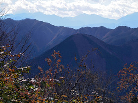 松生山から南側の眺望ズーム