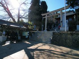 武蔵御嶽神社入口