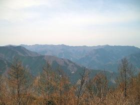 御前山からの眺望
