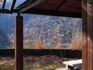 小河内ダム展望広場の休憩所
