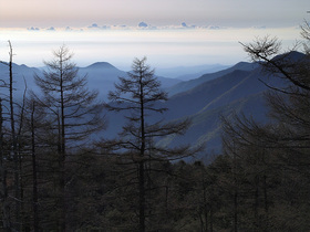 雲取山からの展望