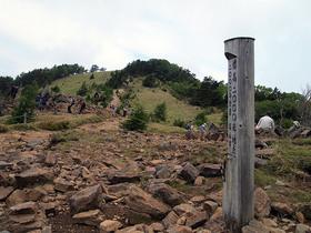 神部岩 標高2000M地点