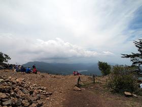 雷岩からの眺望