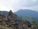 人気撮影スポットのお立ち台岩
