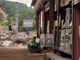大菩薩峠の売店