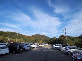 朝の平標登山口駐車場