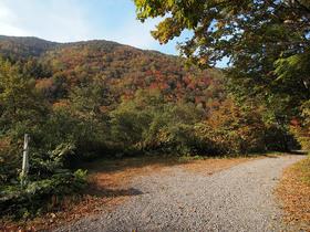上信越自然歩道から天丸木山を望む