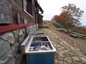 平標山ノ家の水場