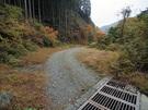 林道大丹波線の路肩スペース2