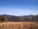 浅間嶺のあずま屋付近からの眺望