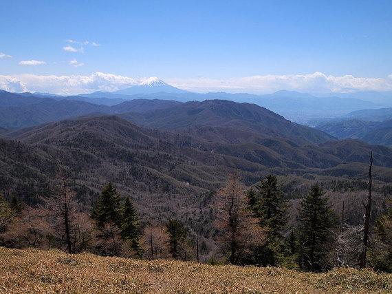 燕山と古礼山の中間地点あたりの展望