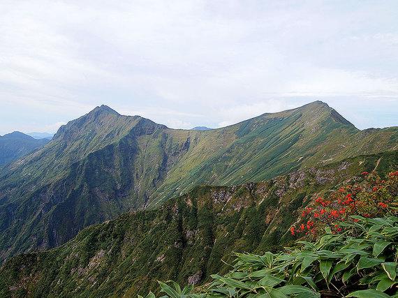 登山道からの眺望2