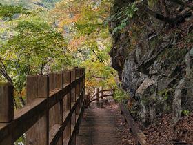龍王峡の散策路2