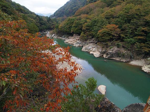 浜子橋からの風景