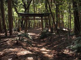 浅間神社一の鳥居まで下山