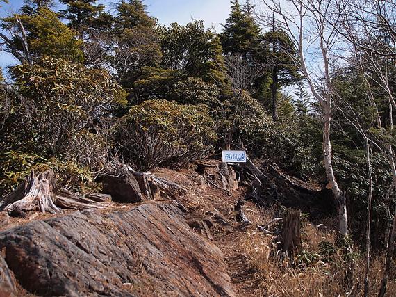 西仙波山頂