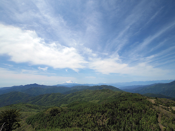 笠取山からの大展望