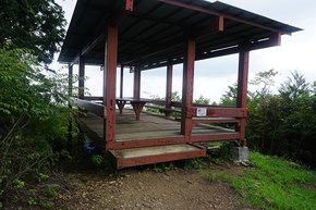 上高岩山の展望台