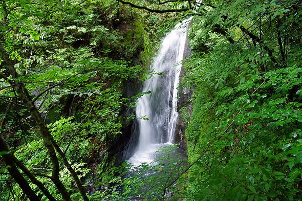 豊富な水量の大滝