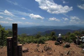 大岳山山頂