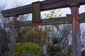 黒檜山大神の鳥居