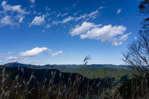 棒ノ折山頂からの展望