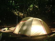 黒川鶏冠山&一の瀬高原キャンプ場